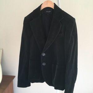 Isabel Marant green/black velvet jacket.